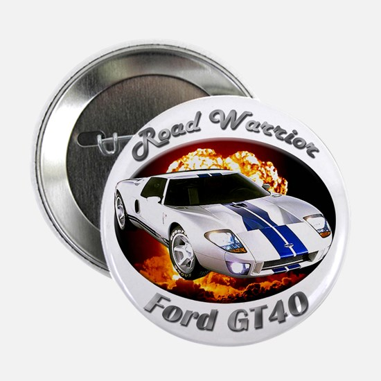Ford GT40 2.25 Inch Button (10 pack)