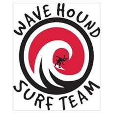 WH Surf Team Framed Print