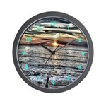 Pacific Coast Sunset2 Cool Clocks Wall Clock