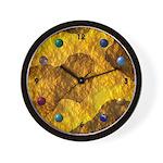 Psychedelic Retro Fur Cool Clocks Wall Clock