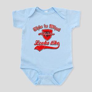 looks like Albanian Infant Bodysuit
