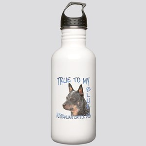 True To My Blue Stainless Water Bottle 1.0L