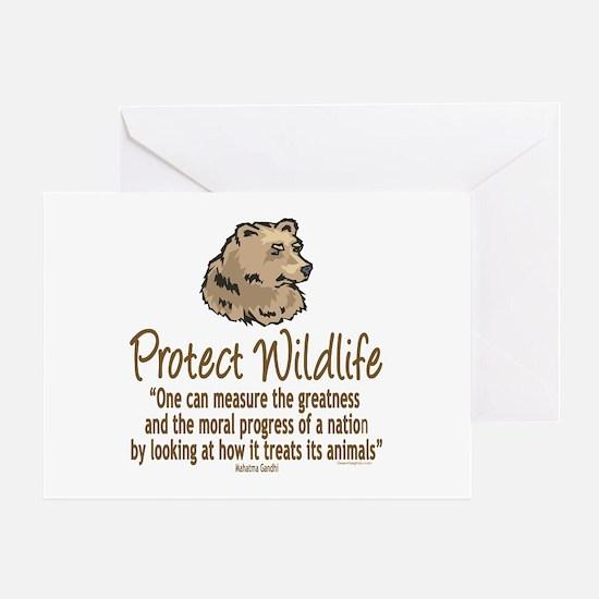 Protect Bears Greeting Card