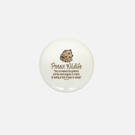 Protect Bears Mini Button