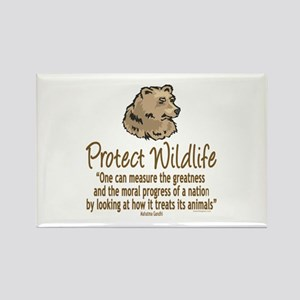 Protect Bears Rectangle Magnet