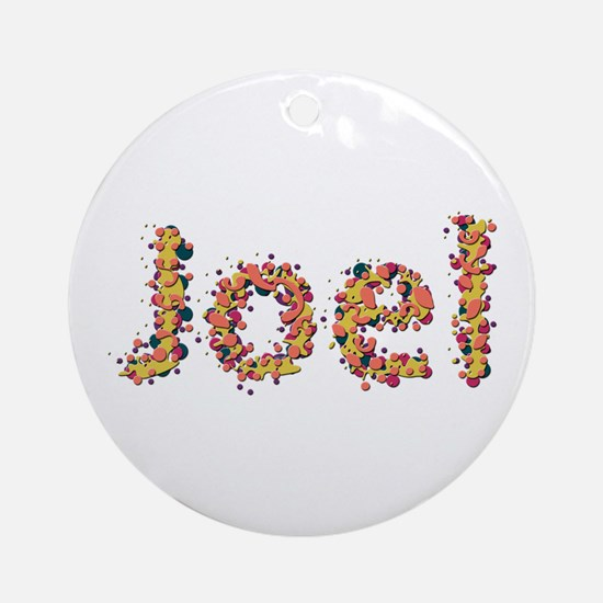 Joel Fiesta Round Ornament