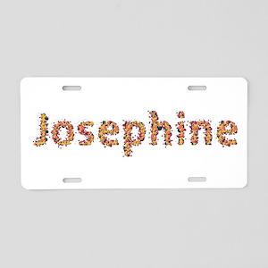 Josephine Fiesta Aluminum License Plate