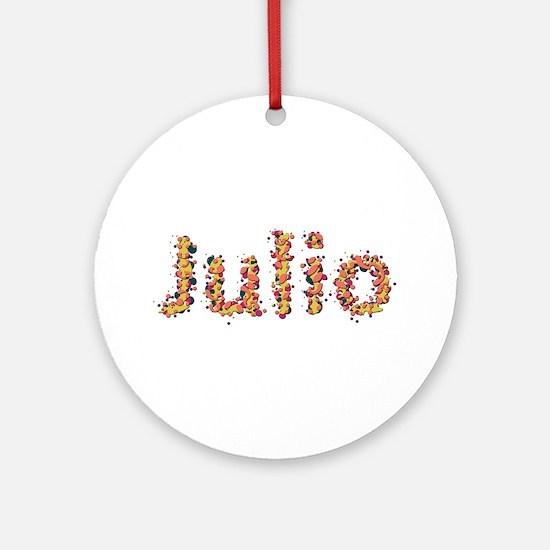 Julio Fiesta Round Ornament