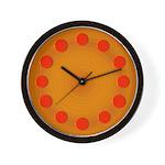 Cosmic Pizza Cool Clocks Wall Clock