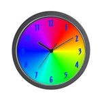 Prism Break Out Wall Clock