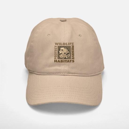 Protect Bears Wildlife Baseball Baseball Cap