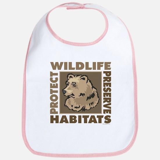Protect Bears Wildlife Bib