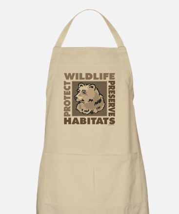 Protect Bears Wildlife Apron