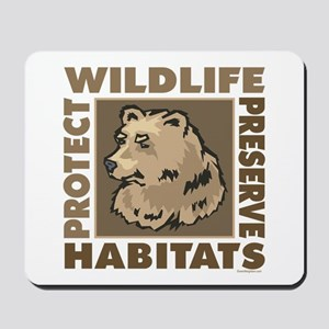 Protect Bears Wildlife Mousepad
