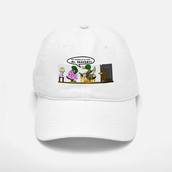 A Cheating Duck Baseball Baseball Cap
