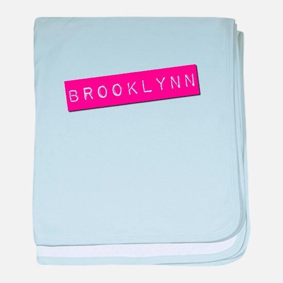 Brooklynn Punchtape baby blanket