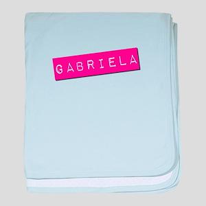 Gabriela Punchtape baby blanket
