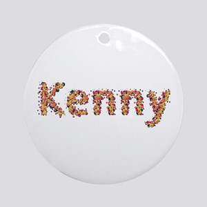 Kenny Fiesta Round Ornament
