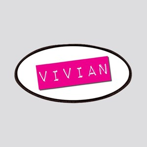 Vivian Punchtape Patches