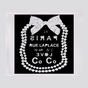 LOVE COCO Throw Blanket