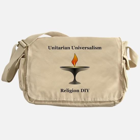 UU - Religion DIY Messenger Bag