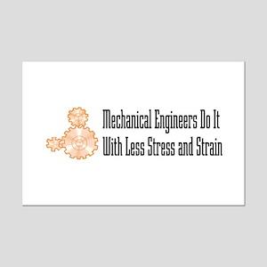 Mechanical Engineers Mini Poster Print