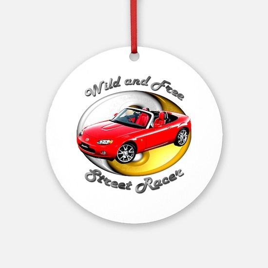 Mazda MX-5 Miata Ornament (Round)