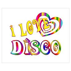 I Love Disco Poster