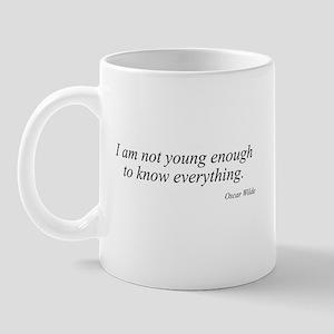 Oscar Wilde quote 3 Mug