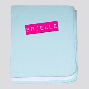 Brielle Punchtape baby blanket