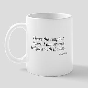 Oscar Wilde quote 8 Mug