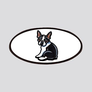 Cute Boston Terrier Patches