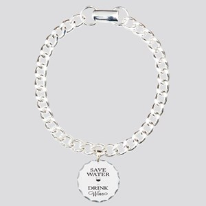 Save Water Drink Wine Bracelet