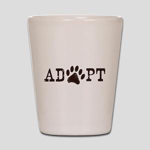 Adopt an Animal Shot Glass
