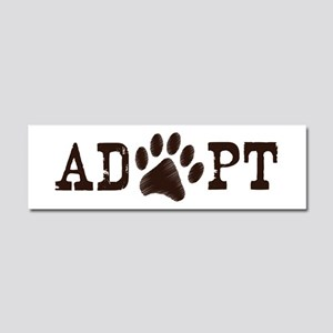 Adopt an Animal Car Magnet 10 x 3