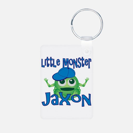 Little Monster Jaxon Aluminum Photo Keychain