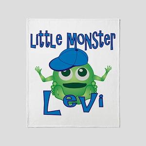 Little Monster Levi Throw Blanket