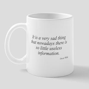 Oscar Wilde quote 31 Mug