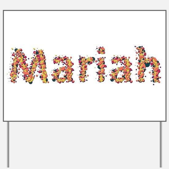 Mariah Fiesta Yard Sign