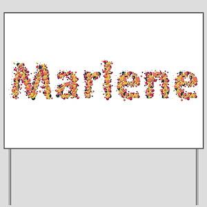 Marlene Fiesta Yard Sign