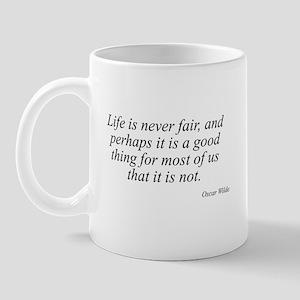 Oscar Wilde quote 45 Mug