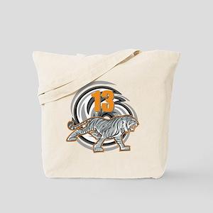 13th Birthday Tiger Tote Bag