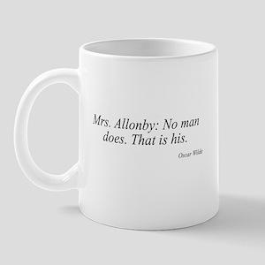 Oscar Wilde quote 56 Mug