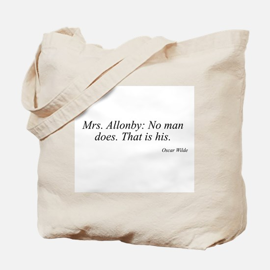 Oscar Wilde quote 56 Tote Bag