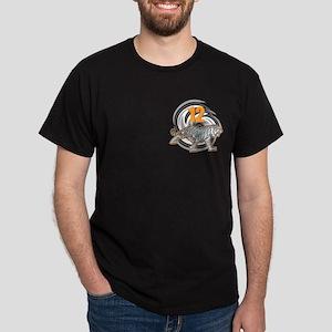 12th Birthday Tiger Dark T-Shirt