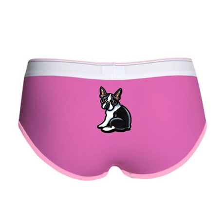 Cute Boston Terrier Women's Boy Brief