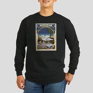 Cygnus the Swan Long Sleeve Dark T-Shirt