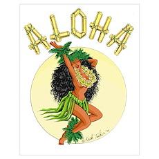 aloha Wahine Poster