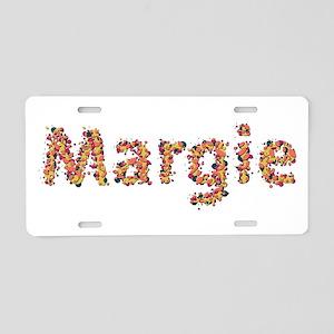 Margie Fiesta Aluminum License Plate