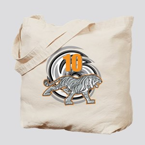 10th Birthday Tiger Tote Bag